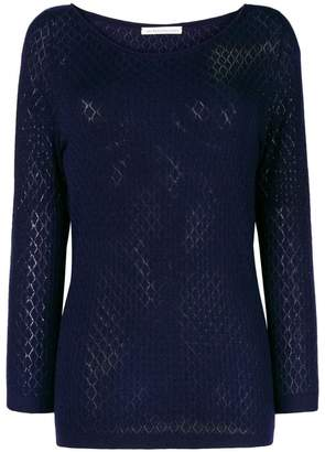 Stefano Mortari fine knit fitted sweater