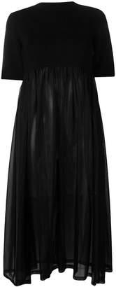 Jil Sander loose flared dress