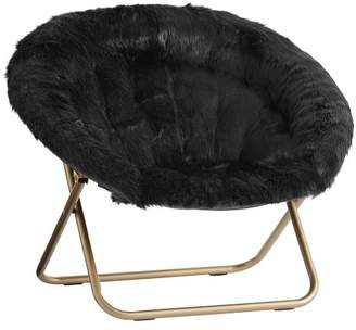 Pottery Barn Teen Black Himalayan Hang-A-Round Chair