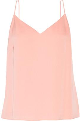 Elizabeth and James - Posie Pleated Stretch-silk Chiffon Camisole - Pastel pink $275 thestylecure.com