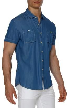 Parke & Ronen Lightweight Denim Slim Fit Shirt