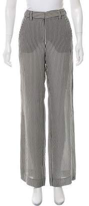 A.L.C. Striped Silk Pants w/ Tags