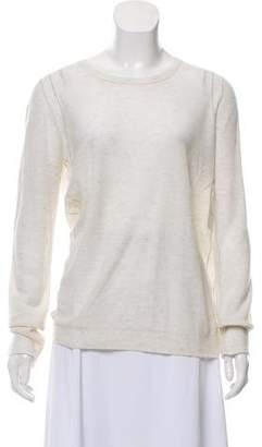 Inhabit Semi-Sheer Cashmere Sweater w/ Tags