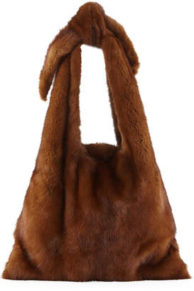 Simonetta Ravizza Furrissima Mink Fur Sac Tote Bag