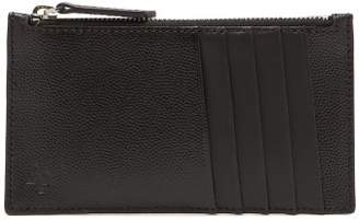 WANT Les Essentiels Adano Zipped Leather Cardholder - Mens - Black