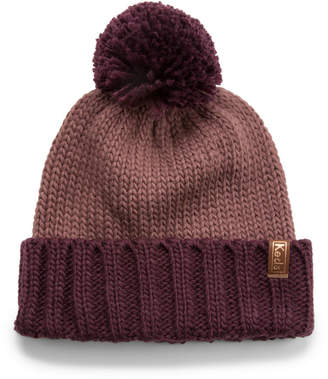 Keds Two Tone Knit Pom Beanie