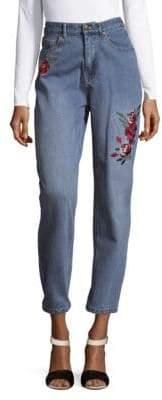 MinkPink Rose Scando Cotton Jeans
