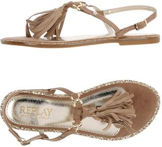 Replay Toe strap sandals