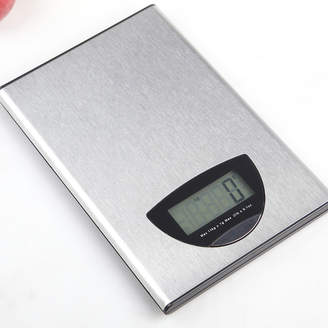 Todo Silver 5kg Flat Stainless Steel Kitchen Scale