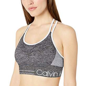 Calvin Klein Women's Low Impact Strappy Bra With Removable Cups Bra