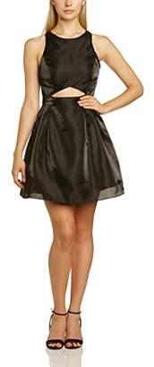 Logan Hailey Women's Crop Party Skater Sleeveless Dress