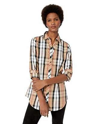 Foxcroft Women's Faith Anderson Tartan Plaid Tunic