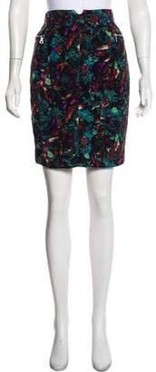 Richard Chai Silk Knee-Length Skirt