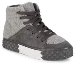 KENDALL + KYLIE Rebel Leather Sneakers