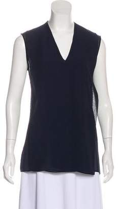 Maison Margiela Draped Sleeveless Top