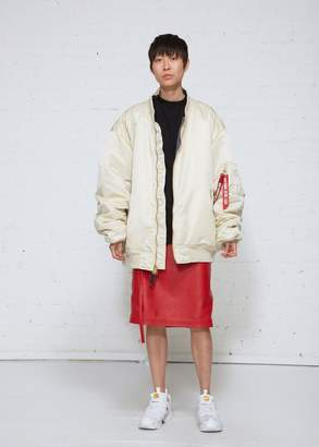 Vetements Reversible Bomber