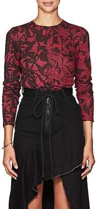 Proenza Schouler Women's Abstract Lightweight Jersey T-Shirt