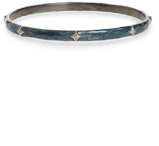 Armenta New World Tsunami Enamel Bangle