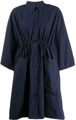 Henrik Vibskov cropped sleeve shirt dress