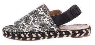 Proenza Schouler Slingback Espadrille Sandals
