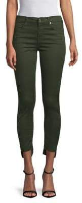 7 For All Mankind Gwenevere Step-Hem Skinny Ankle Jeans