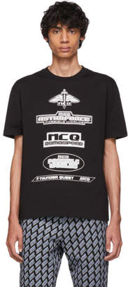McQ Black Astroforce T-Shirt