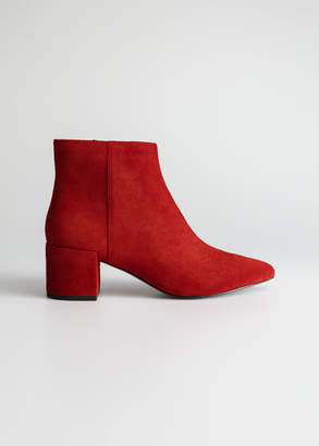 And other stories Heeled Ankle Boots