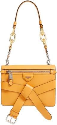 Moschino Belt Leather Shoulder Bag