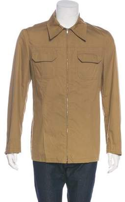 CNC Costume National Solid Woven Shirt Jacket