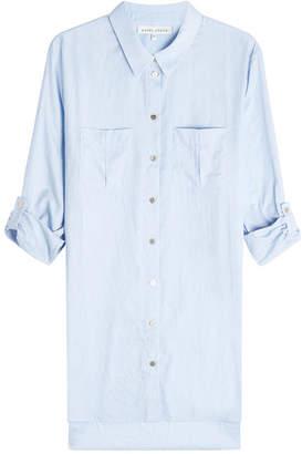 Heidi Klein Dipped Hem Cotton Shirt