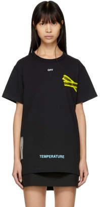 Off-White Black Firetape T-Shirt