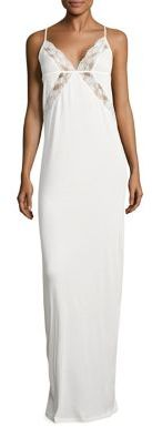 La Perla Airy Blooms Long Nightdress $365 thestylecure.com