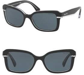 Ralph Lauren Ralph By Eyewear 54mm Square Sunglasses