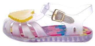 Mini Melissa Girls' Jelly Sandals
