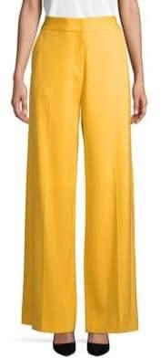Oscar de la Renta Full-Length Flared Pants