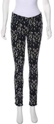 Rag & Bone Ikat Mid-Rise Skinny Pants
