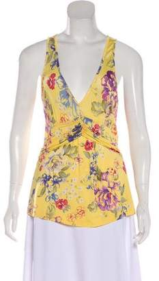 Etro Sleeveless Floral Top