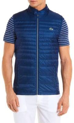 Lacoste Sport Quilted Down Vest