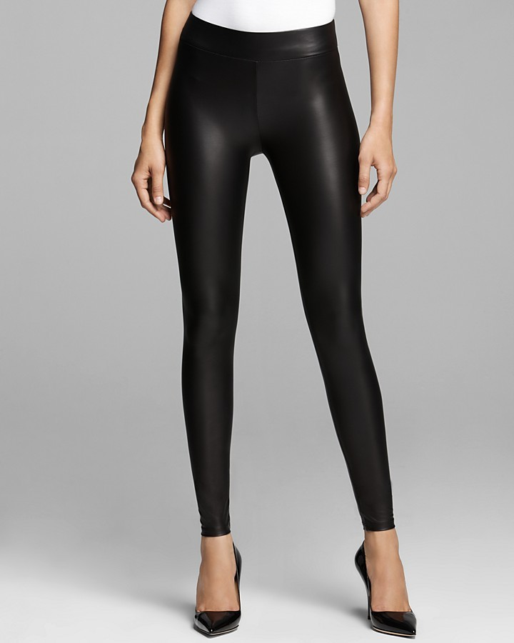 GUESS Leggings - Matte Faux Leather