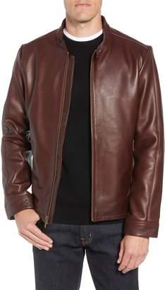 UGG Orlando Leather Racer Coat