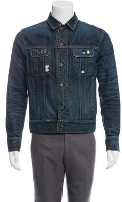 Rag & Bone Distressed Denim Jacket