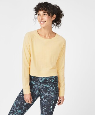 Sweaty Betty Chelsea Crop Sweatshirt