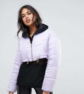 Missguided Padded Cropped Jacket