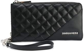 DSQUARED2 large Icon zip wallet