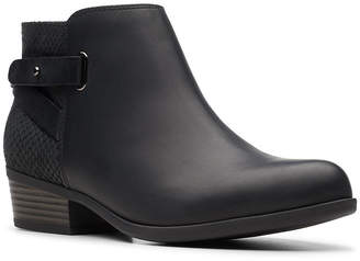 Clarks Collection Women Addiy Gladys Ankle Booties Women Shoes