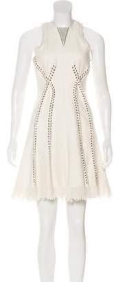 Alexander Wang Embellished Tweed Dress w/ Tags