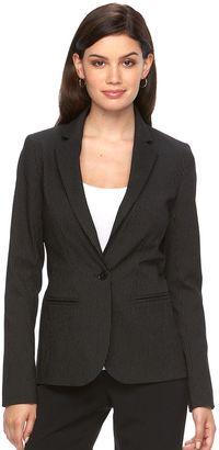 Women's Apt. 9® Torie Pinstripe Blazer $60 thestylecure.com
