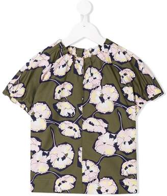 Marni (マルニ) - Marni Kids floral print blouse