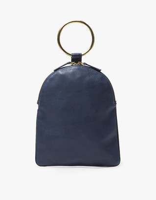 Ring Pouch Large in Navy $165 thestylecure.com