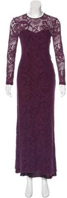 Yigal Azrouel Lace Evening Dress